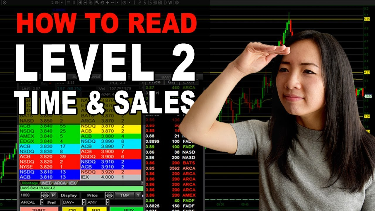 How To Read Level 2 Time And Sales Tape Reading Day Trading For Beginners 2021 Youtube How to read time and sales webull