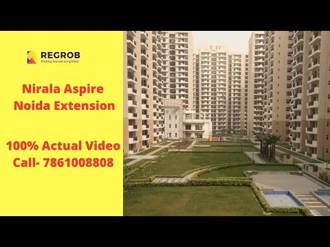 Nirala Aspire Residential Project Noida Extension | Sales- 7861008808 | Actual Video Dec 2018