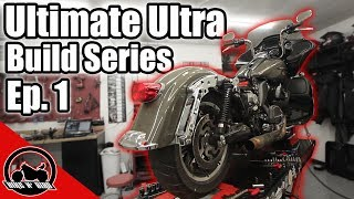Tearing Apart a BRAND NEW Harley Davidson Road Glide Ultra - Ultimate Ultra Build Series Ep. 1