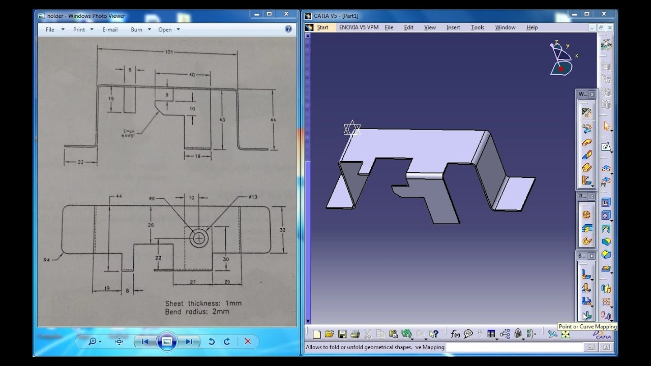 catia v5 generative shape design tutorial pdf