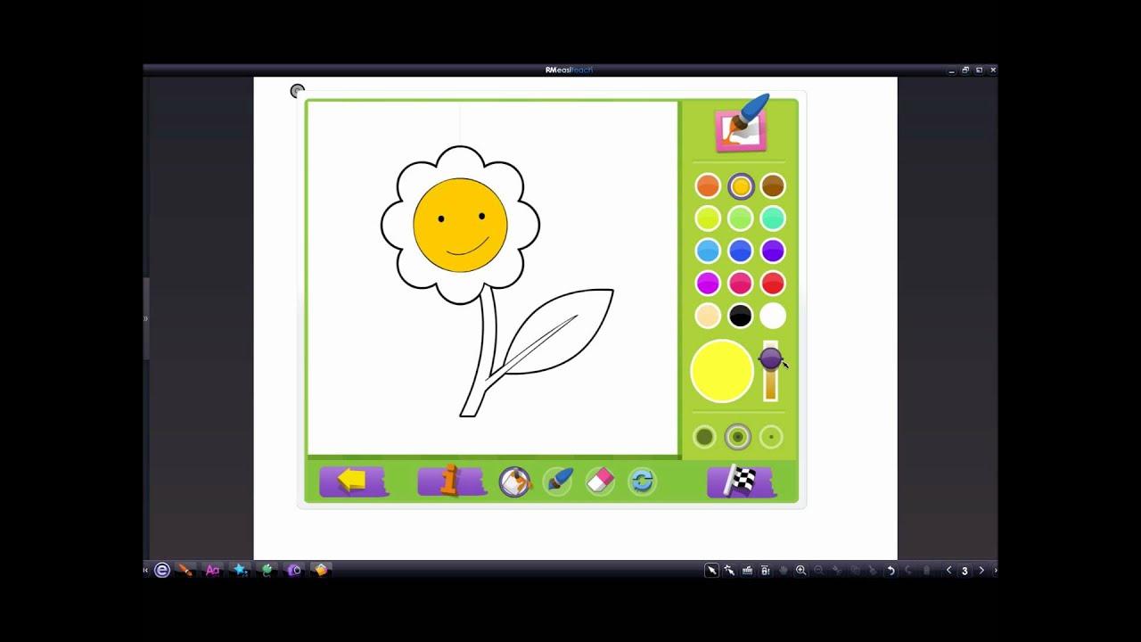Урок с Panaboard Урок 20 Виджет и интерактивные раскраски ...