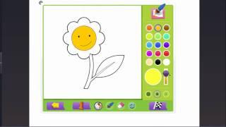 Урок с Panaboard Урок 20  Виджет и интерактивные раскраски  Ячменева М А