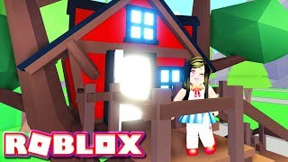 I GOT THE NEW TREE HOUSE in Roblox ADOPT ME!