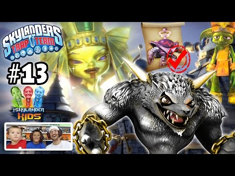 Lets Play Skylanders Trap Team: Chapter 13 - Future of Skylands w/ Blaster Tron & Wolfgang