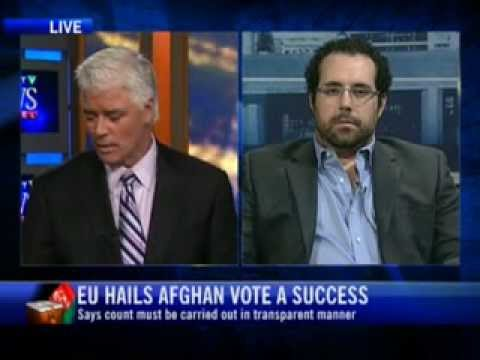 CTV News Channel Interview - Reaction to Afghan Presidential Election (24 August 2009)