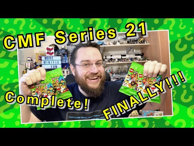 CMF Series 21 - Complete! FINALLY!!! (Lego Collectable Minifigures)