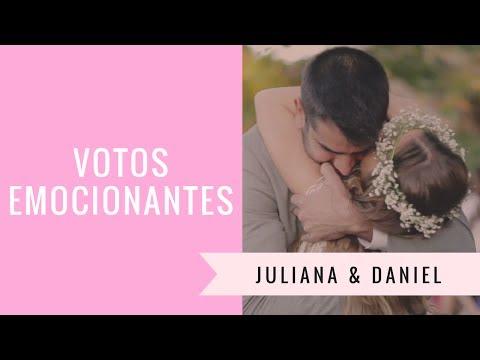Declaração de amor mais linda que você já viu: Juliana & Daniel - IC TV