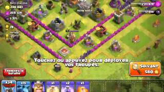Clash Of Clans: (TuTo HDV 8 Fr)Ballons Serviteur