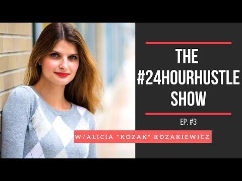 Alicia Appears on #24HourHustle