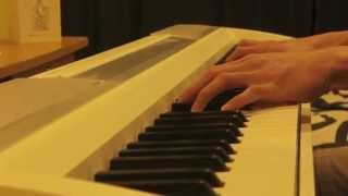 Way back into love on piano.