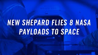 NS-10: New Shepard Flies 8 NASA Payloads to Space