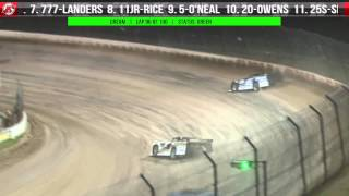 6.6.15 Dirt Late Model Dream XXI Finale  |  Feature AND Post-Race