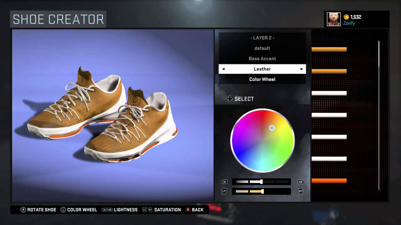 4651db34f03 NBA 2K16 Shoe Creator - Nike KD 8 EXT