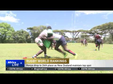 Kenya drop to 24th place in rugby world rankings as New Zealand maintain top spot