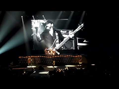 Scorpions LIVE Tribute to LEMMY \,,,/ 9-23-2017 Allstate Arena Rosemont Illinois Chicago