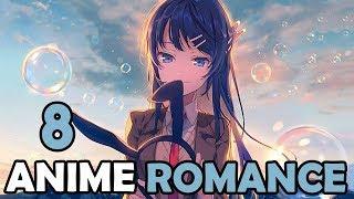 Los 8 MEJORES animes de ROMANCE