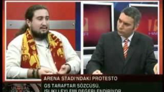 Turktelekom Arenadaki başbakan protestosu tekyumruk sözcüsü anlatıyor. part 1