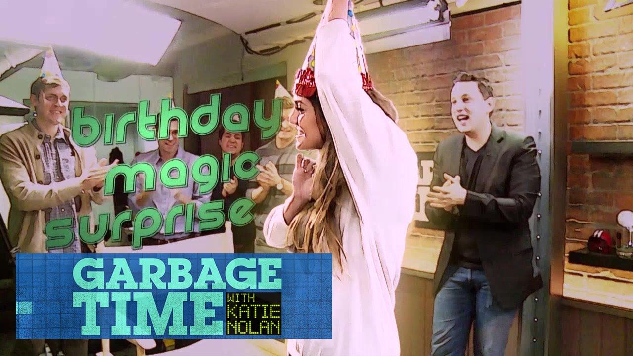 Katie Nolan's Magical Birthday Surprise