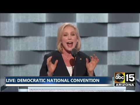 FULL: Senator Kirsten Gillibrand - Democratic National Convention