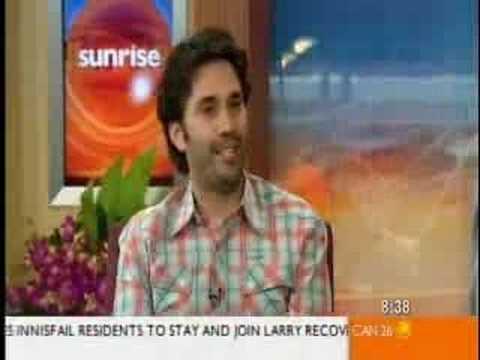Break up on live morning tv