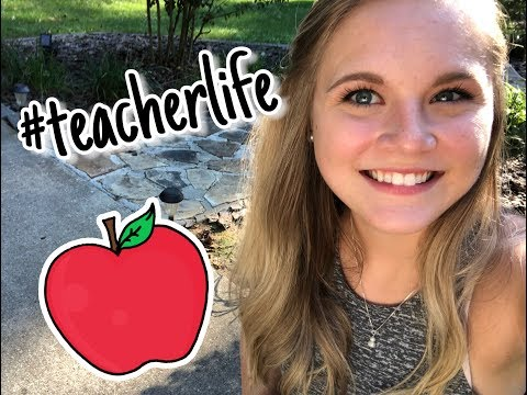 A Week in the Life of a Student Teacher