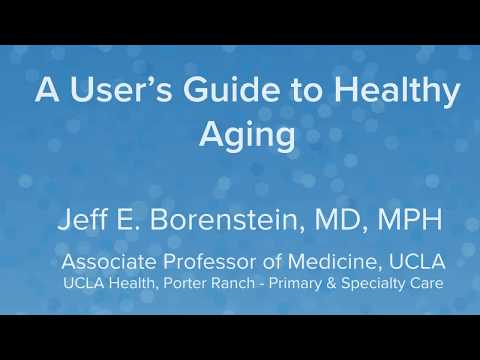 What s the important thing to Healthy Aging