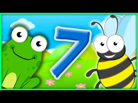 The Number 7 | Number Songs By BubblePopBox | Learn The Number Seven