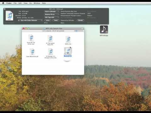 mp3-Info 2.0 iTunes Companion - Video Tutorial (English)