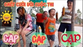 #Hài hước với cuộc thi cạp bắp của gia đình vịt bầu