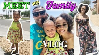 MEET THE FAMILY VLOG! WELCOME TO OUR NEW CHANNEL!