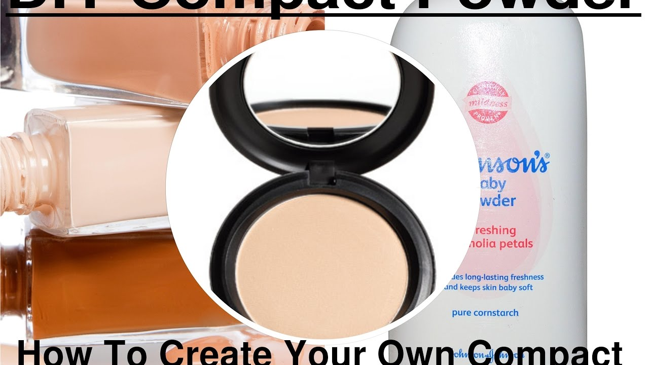 Diy loose facial powder