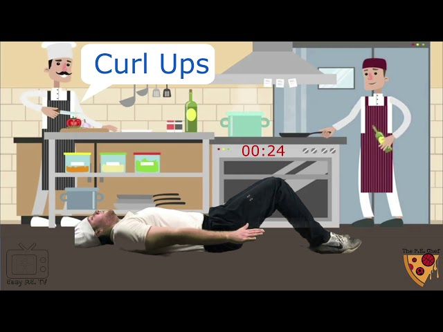 PE Chef S3E2 One Minute Workout