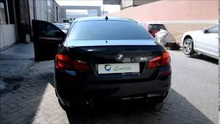 BMW M5 Meisterschaft Exhaust by LimeLite International, Dubai