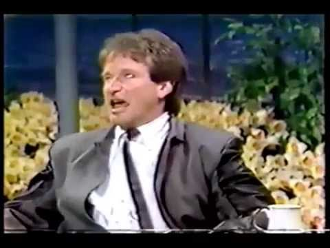 Robin Williams on The Tonight Show Starring Johnny Carson (1984)