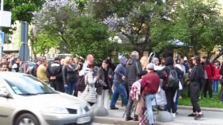 Алан Бадоев и Вера Брежнева снимают клип