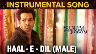 Haal – E – Dil (Male) Instrumental Song | Sanam Teri Kasam | Harshva …