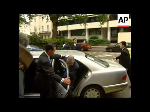 UK: FORMER TAIWANESE PRESIDENT LEE TENG HUI VISIT (2)