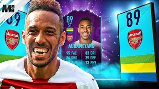 FIFA 19 POTM AUBAMEYANG REVIEW | 89 POTM AUBAMEYANG PLAYER REVIEW | FIFA 19 ULTIMATE TEAM