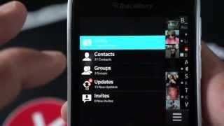 Look at the BlackBerry Q10 Dark Theme