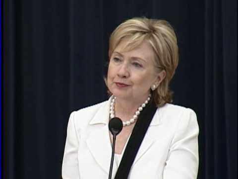 Secretary Clinton Announces QDDR