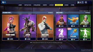 La pioche de baguette magique de new-star - peau d'accord de puissance (retour)! Fortnite Item Shop 19 mars 2019