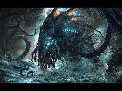 【怪物志】利維坦-上帝所創最大的怪物 - YouTube