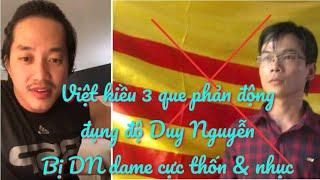 Việt kiều 3 que phản động đụng độ Duy Nguyễn trên đất Mỹ, bị DN cho ăn dame sấp mặt