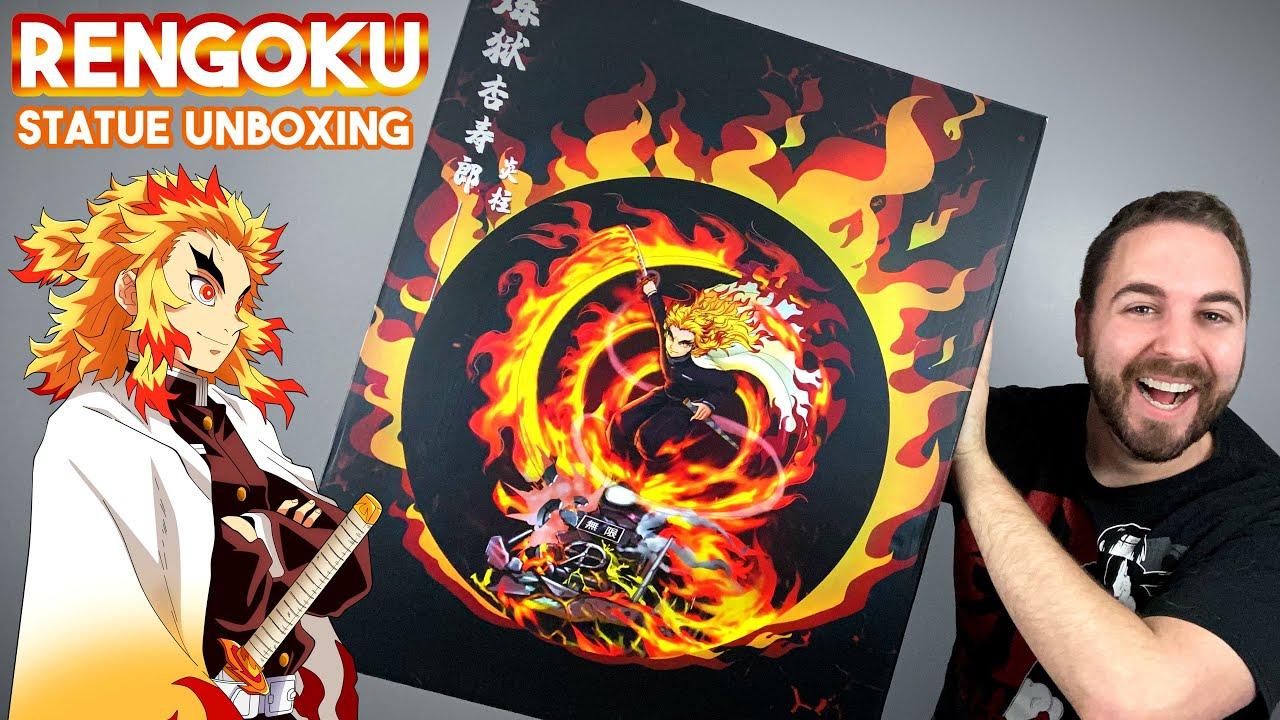 FLAME ? HASHIRA l Rengoku : Mugen Train Movie l Demon Slayer Statue Unboxing