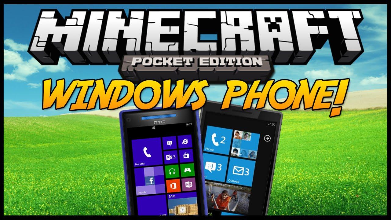 Cкачати майнкрафт на windows phone