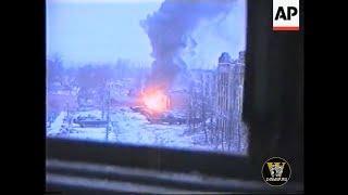 Уличные бои в Грозном (Чечня)