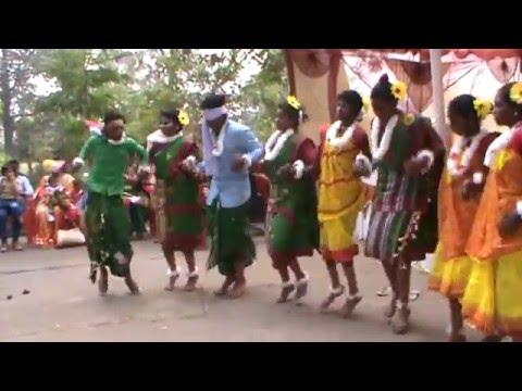 Kherwad Bir Sodey Korba Chhattisgarh 2015 (Group Dance 2)