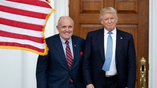 Will Giuliani continue to be involved in a Trump presidency?