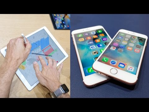 Should you buy the iPhone 6s or iPad Pro?