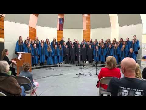 La Center Middle School Choir Veterans Day 2014